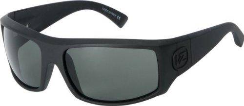VonZipper Clutch Sunglasses - Polarized Black Satin