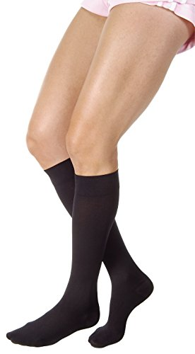 JOBST Relief 30-40 mmHg Compression Socks, Knee High, Closed Toe, Black, Small by JOBST