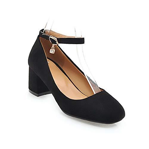 5 Noir Noir BalaMasa Sandales EU Compensées Femme 36 APL10426 wS0O07x4