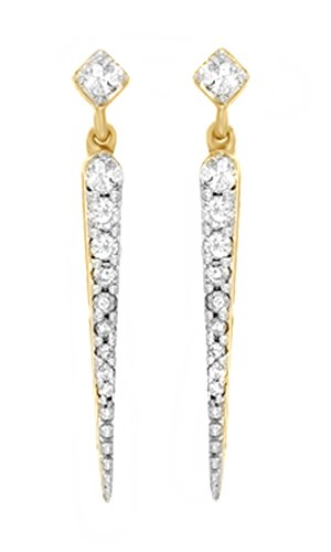 Diamond Stick Earrings - 6