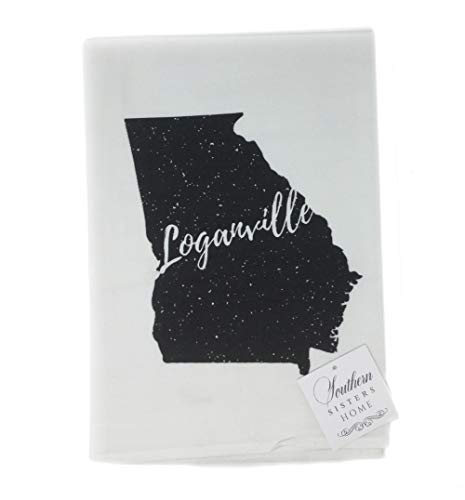 Southern Sisters Home Decorative Kitchen Dish Towels-Hometown Loganville, Ga