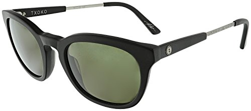 Electric Visual Txoko Matte Black/OHM Grey Polarized - Ohm Electric Sunglasses