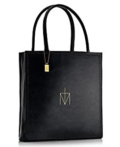 Madonna Truth or Dare Perfume Black Classic Tote Bag Purse Limited Edition