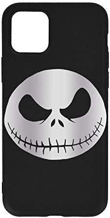 夜からジャック·スケリントン Iphone 11 用 ケース 新型 アイフォン スマホケース 保護ケース 携帯電話の殻 携帯電話カバー 可愛い 軽量 シリコンケース カバー 脱着簡単 耐衝撃 衝撃吸収カバー 滑り止め 黄変防止