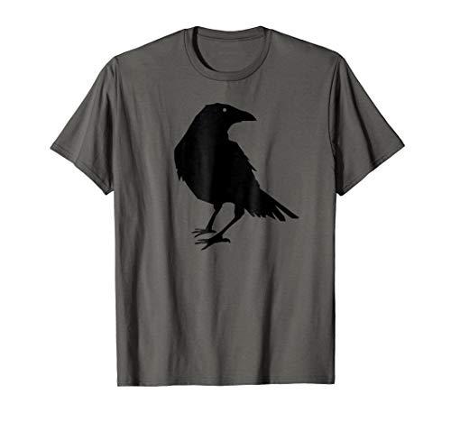 Beautiful Black Crow Raven Bird Silhouette ()