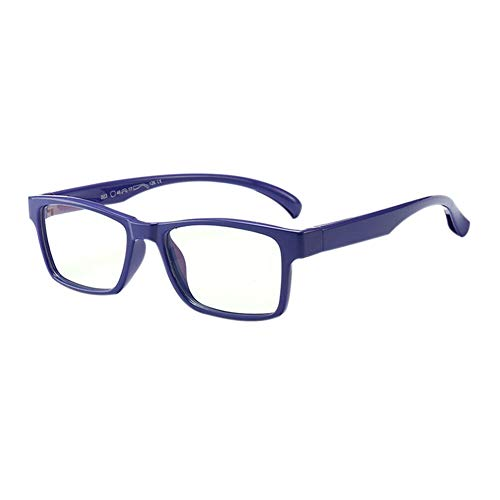 Henghx Blue Light Filter Kids Goggle - UV 400 Protection Reading Books Eyewear Computer Game Children Fashion Glasses for Boys Girls (Purple - 1.33 Watch Inch Phone