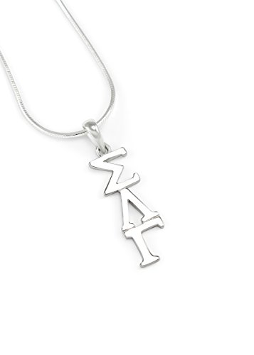 (The Collegiate Standard Sigma Lambda Gamma Sterling Silver Lavaliere Pendant Sorority Jewelry)