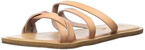 Image of O'Neill Women's Jackson Sandals Slide, Brown, 10 Regular US