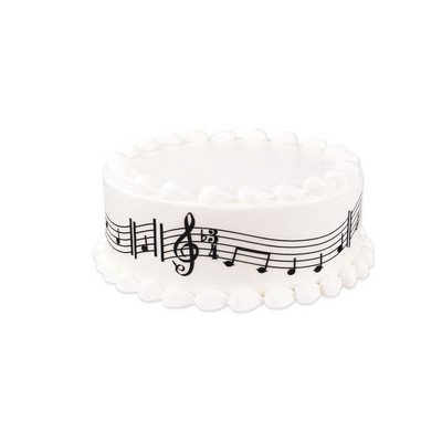 Music Notes Edible Cake Border Decoration by Sweetn Treats for $<!--$8.00-->