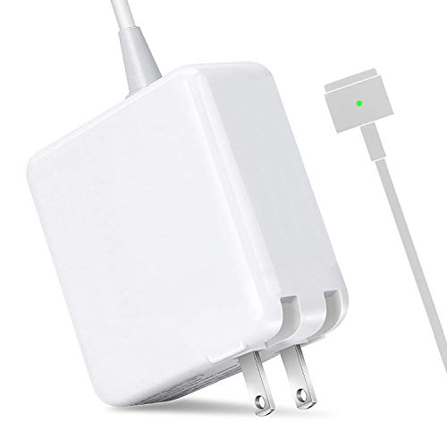 MOFANG FAMILY Compatible with MacBook Air Charger, Replacement 45W Magsafe 2 T-Tip Power Adapter Charger for Apple MacBook Air 11 inch and 13 inch (2012Late) by MOFANG FAMILY