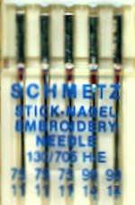 Amazon.com: NT464 Schmetz Machine Embroidery Needles ...