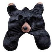 Black Bear Floor Throw Area Rug (Great Kids Rug), 60-inch, Extra Large Jumbo Huge