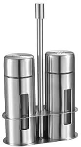 Visol Gilberte Stainless Steel Salt and Pepper Shaker Set