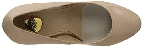 Nude Patent P2010f 01 Escarpins PU Femme 1 C473a Beige Buffalo xqfHIw8w