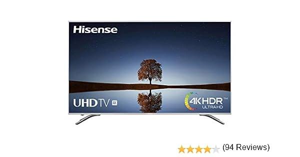 Hisense H65A6500, Smart TV VIDAA U, Diseño Metálico, Modo Deportes, 4K Ultra HD, HDR, Precision Color, Super Contraste, Remote, WIFI Ethernet USB, 65