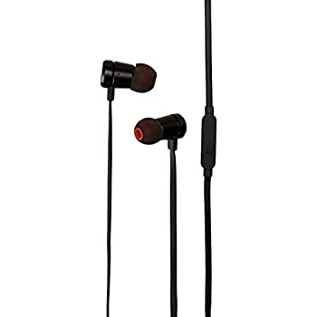 JBL T290 Premium In-Ear headphones with mic, flat cord with universal remote, pure bass