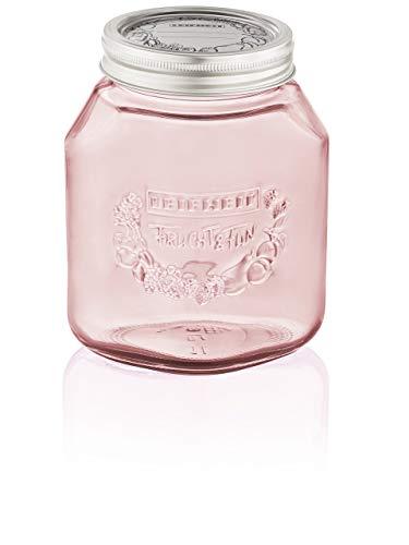 Leifheit Set of 3 Preserving Glass Jars, Tender Rose, 1 (Best Leifheit Glass Jars)