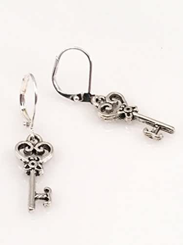 Designer Key Earrings