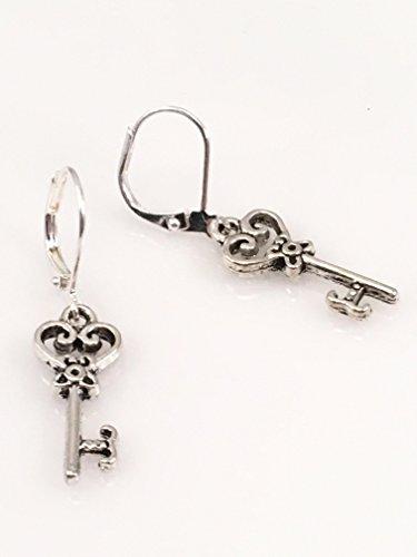 Designer Key Earrings (Key Earrings)