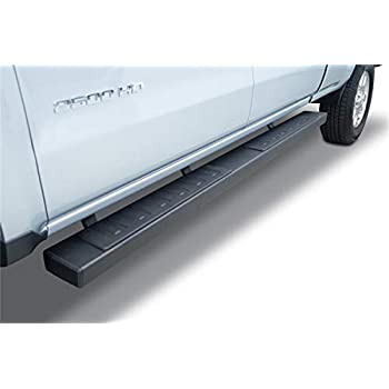 Go Rhino D24040T Black Textured Dominator D2 Sidestep for Chevrolet//GMC Extended Cab Length, Pair