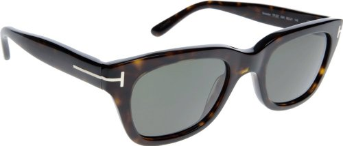 Tom Ford Sunglasses - Snowdon / Frame: Shiny Dark Havanan Lens: Brown ()