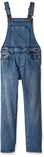 Scotch & Soda Kids Little Girls' Dyed Overalls (Kid) - Indigo Blue - 6 by Scotch & Soda
