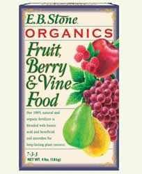 EB Stone Organic Fruit, Berry & Vine Food 7-3-3, 4 lbs.