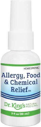 Médecine naturelle allergie de Martin Luther King, de l'Alimentation et de secours chimique, 2 once liquide
