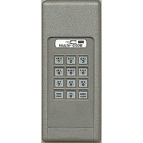 Multi-Code 420001 300MHz Door Opener Wireless Keypad