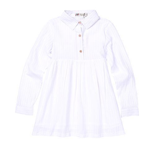 Pleated Button Front Placket - 7