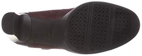 Burgundy dk Geox Rouge High Escarpins Annya D Femme B C7357 0Y8w0frq