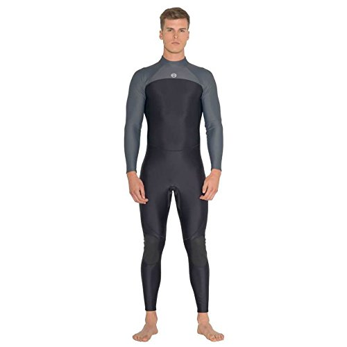 - Fourth Element Thermocline One Piece 2mm Neoprene-Free Rear-Entry Steamer Wetsuit (Men's) Large Black