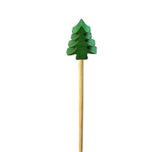 (Christmas Tree Appetizer or Sandwich Picks/Swizzle Sticks - 4 3/4