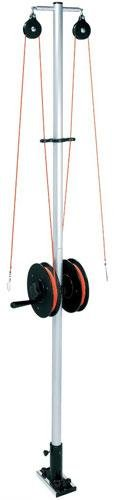 Mast Systems (Bert's Custom Tackle Double Reel Planer Board Mast System, 6-Feet)