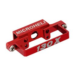 (Aluminum DS35 Tail Servo Mount,Red: Blade 130X)