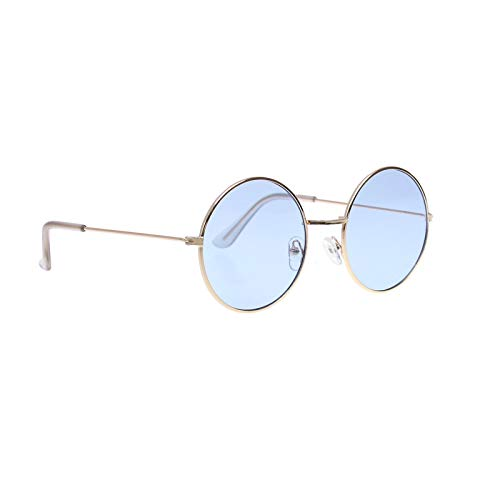 070cc52874fd lieomo John Lennon Hippie Style 60's Style Circle Sunglasses–Glasses  Favors, Costume and Party