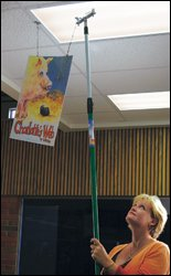 Clik-Clik Magnetic Hanging System-18ft. MagPole Kit