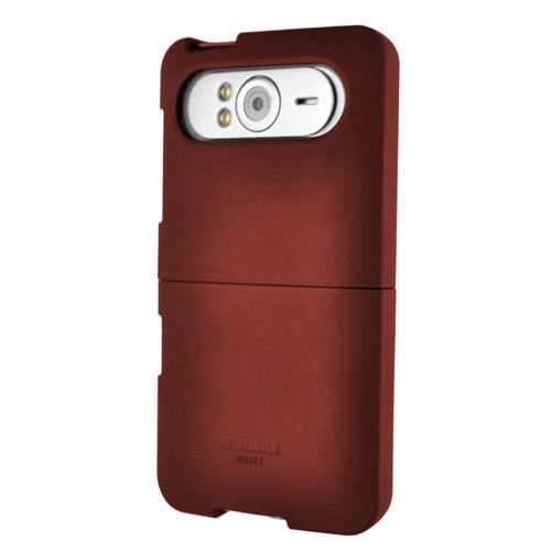 - Seidio SURFACE Case for HTC HD7 - 1 Pack - Retail Packaging - Burgundy