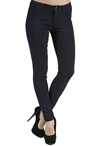 Womens 5 Pocket Hipster Jean - 3