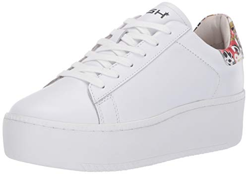 Ash Women's AS-Cult Sneaker White/Flower 38 M EU (8 US)