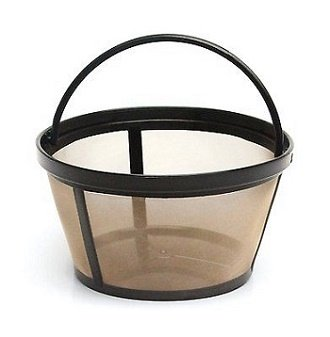 4-Cup Basket Style Permanent Coffee Filter for Mr. Coffee 4 Cup - Medium In Size Is What Numbers