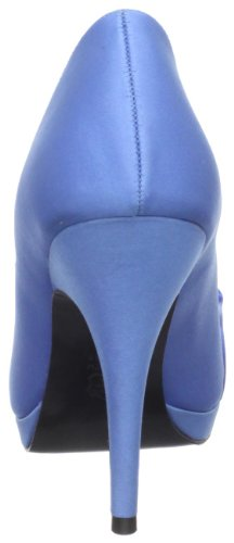 Nina Womens Evelixa Peep-toe Pump China Blauw