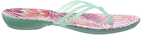 Graphic New Crocs tropical Isabella Donna Mint Infradito 4xx0AS