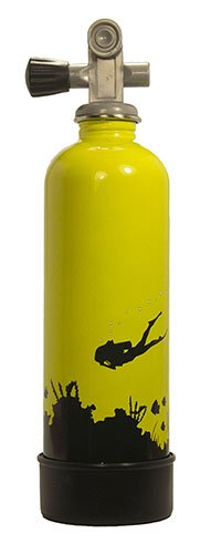 TankH2O Scuba Tank Stainless Steel Water Bottle