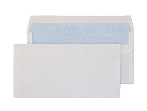 Purely Everyday - Buste formato DL con chiusura adesiva, confezione da 50 pezzi, colore: bianco Blake Envelopes 12882/50 PR