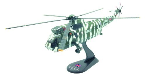Westland Sea King HC.4 diecast 1:72 helicopter model (Amercom HY-8)