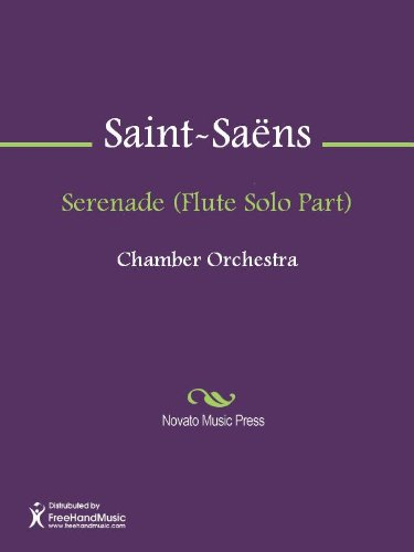 - Serenade (Flute Solo Part)