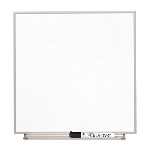 Quartet M1616 Matrix Magnetic Boards, Painted Steel, 16 x 16, White, Aluminum Frame by Quartet
