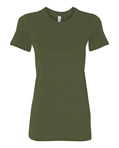 Bella womens The Favorite T-Shirt-OLIVE-L
