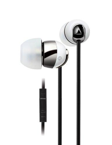 Creative HS-660I2 Kabelgebundenes In-Ear Headset (integrierte Fernbedienung) für iPhone, iPod, iPad weiß